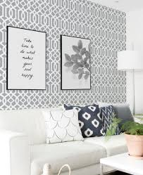 modern trellis wallpaper peel and stick