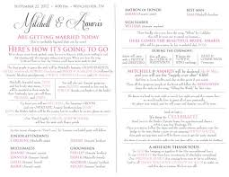 church programs for wedding creative wedding program wording email this blogthis to