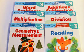 kumon workbooks grade 3 set math reading 6 books free