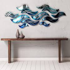 Sculpture Metal Murale by Large Metal Wall Art Panels Contemporary Abstract Art By Dv8 Studio