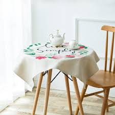 Coffee Table Cloth by Live Simply Hand Painted Table Cloth U2013 Kiyolo