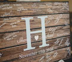 alternative guest book rustic wedding guest book alternative guest book wedding