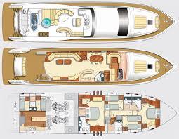 yacht floor plans majesty 88 deck plans yacht craft