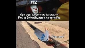 Memes De Peru Vs Colombia - per禳 vs colombia memes por la pol礬mica de la preventa de