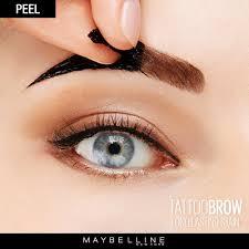 tattoo brow easy peel off brow tint semi permanent eyebrows