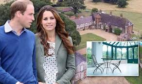 kate and william plan to build a conservatory for their amner hall