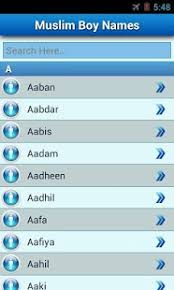 muslim baby names and meaning android apps on google play
