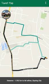 Map My Route Google by Java Android Onlocationchanged With Direction Using Google Map