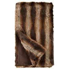Faux Fur Throw Pillow Tanuki Faux Fur Throw Blanket Throws U0026 Pillow Fabulous Furs