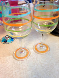 wine glass painting wine glass painting parties u2014 art by tjm
