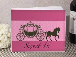sweet 16 sign in book sweet sixteen guest sign book from 12 60 hotref