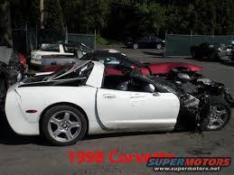 1981 white corvette c3 crash corvette forum digitalcorvettes com corvette
