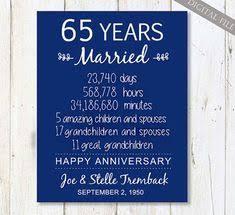 65th wedding anniversary gift 65th sapphire anniversary gift personalised wooden keespake heart