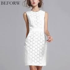 beforw summer dress women sleeveless solid color slim large