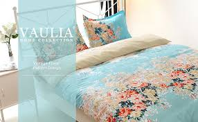 Patterns For Duvet Covers Amazon Com Vaulia Lightweight Microfiber Duvet Cover Sets