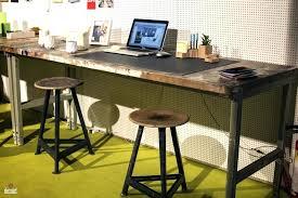 Lowes Office Desks Industrial Home Office Furniture Desk Workstation Corner