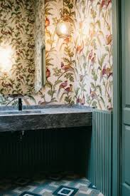 small bathroom wallpaper ideas best 25 small bathroom wallpaper ideas on pinterest bathroom