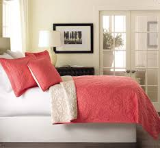 Solid Color Comforters Total Fab Coral Colored Comforter And Bedding Sets