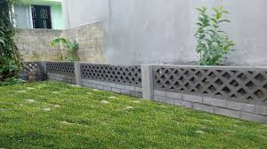 diy concrete garden wall youtube