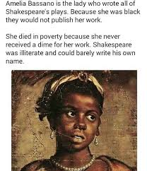Educated Black Man Meme - fact check amelia bassano the true shakespeare
