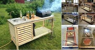 portable outdoor kitchen island diy outdoor kitchen pallet outdoor kitchen bar pallet bars build