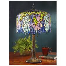 tiffany style wisteria table lamp 581822 lighting at tiffany style wisteria table lamp