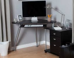 Glass Top Desk With Keyboard Tray Desk L Shaped Desk With Keyboard Tray Awesome Desk With