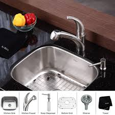 stainless steel kitchen sink combination kraususa com discontinued kraus 20 inch undermount single bowl stainless steel kitchen sink with pull out kitchen