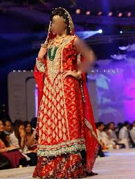 latest pakistani bridal dresses lehenga collection 2014