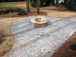 Paver Patio Paver Patio With Pit Mooresville