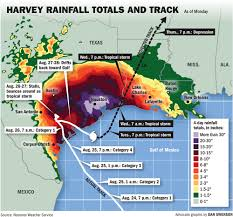 Weather Map New Orleans by Tropical Storm Harvey See Radar Projected Track Potential New