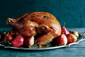roast turkey with black truffle butter and white wine gravy recipe