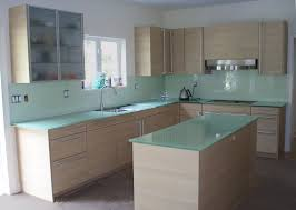 glass kitchen island regular glass countertops custom