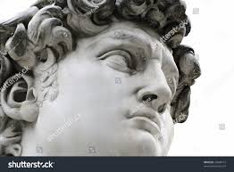 michelangelo s david head famous statue by michelangelo david stock photo 24948712