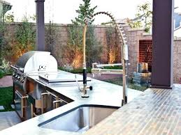 outdoor kitchen sink plumbing outdoor kitchen sink large size of kitchen outdoor grill with sink