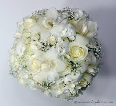 White Rose Bouquet Wedding Bouquets Vickies Flowers Brighton Colorado Florist
