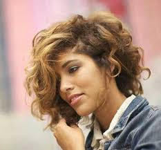 hairstyles for short curly layered hair at the awkward stage 15 short haircuts for curly thick hair http www short