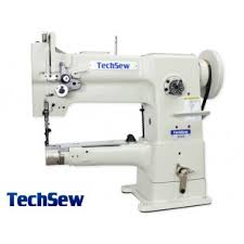 Home Sew Catalog Techsew 2900l Long Arm Leather Patching Machine Techsew