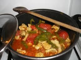 cuisiner des filets de poulet recette filets de poulet façon basquaise recette filets de poulet