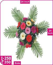 plastic flowers artificial flowers at rs 350 artificial flowers id
