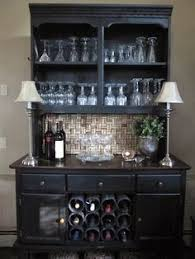 Bar Hutch I Love This Practical Petite Piece You Can Fit This Into Just