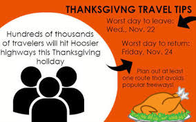 before you go plan time for thanksgiving travel