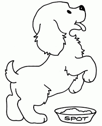 the brilliant along with beautiful dog coloring pages to print
