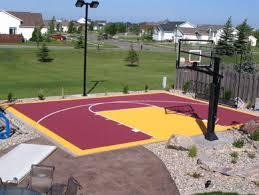 Backyard Basketball Half Court 23 Best Basketball Courts Images On Pinterest Outdoor Basketball