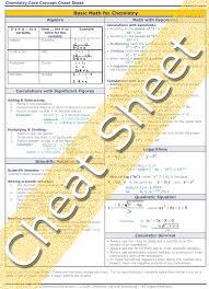 college chemistry basic math for chemistry