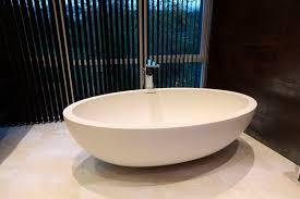 Walmart Bathtubs Oval Stone Standing Walkin Baths Tubs With Single Iron Faucet On
