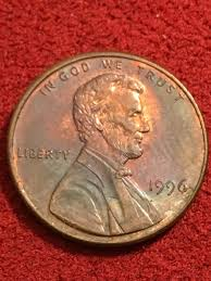 1996 lincoln cent error coin community forum