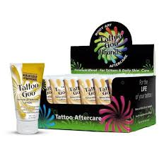 tattoo goo aftercare lotion review tattoo goo lotion 24 x 2oz tubes after care lotions and numbing
