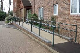 Disabled Handrails Ada Railings And Handrails Osha Compliant