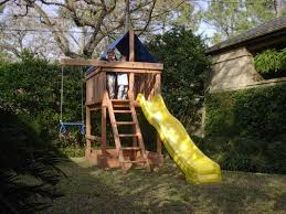 How To Build A Wooden Playset Apollo Diy Wood Fort Swingset Plans Jack U0027s Backyard